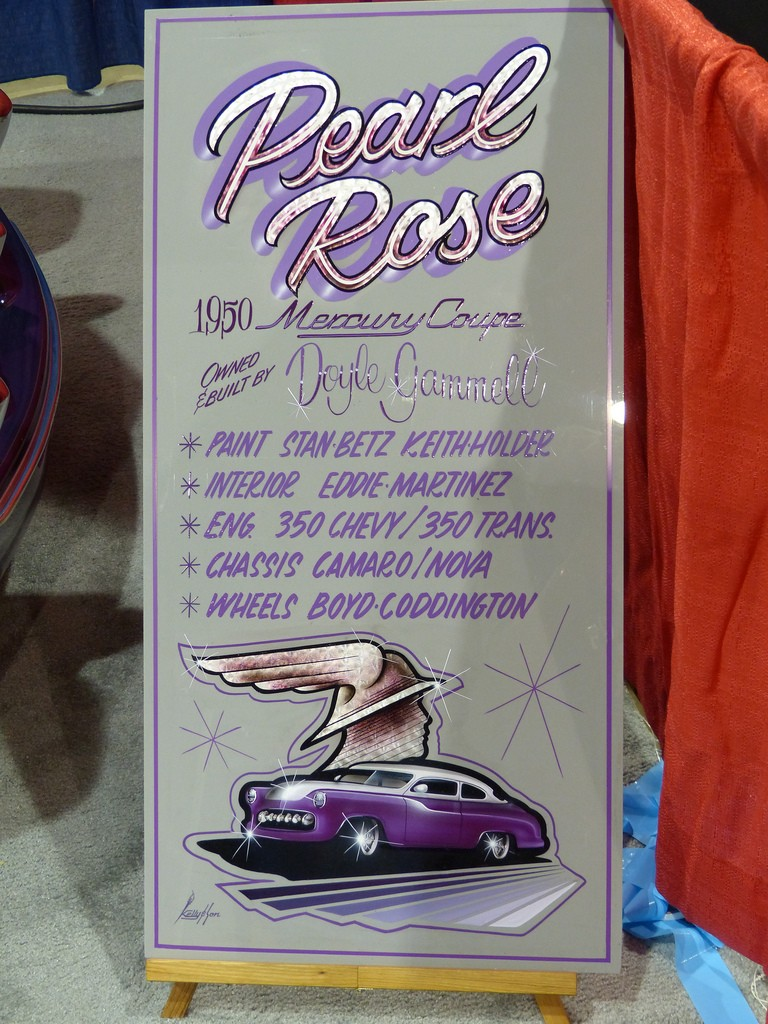 1950 Mercury coupe - Pearl Rose - Doyle Gammell 84300810