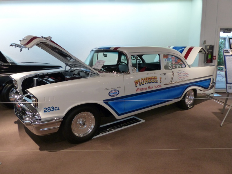 1950's car dragster 84386110