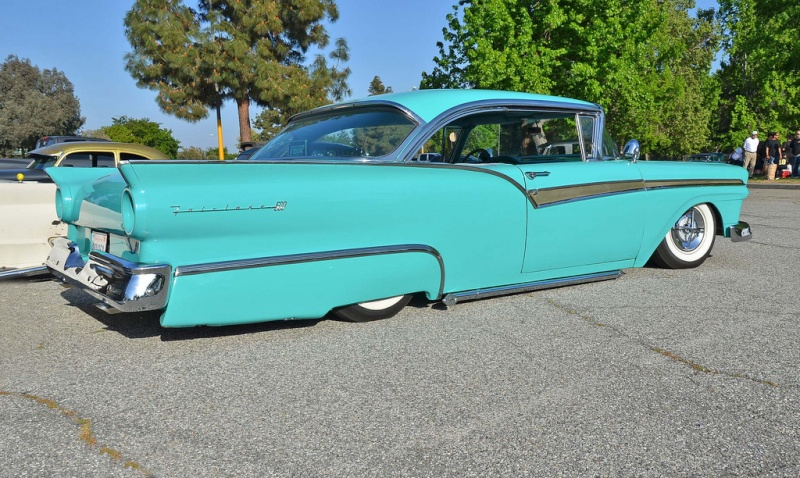 Ford 1957 & 1958 custom & mild custom  86364510