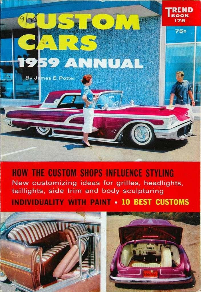 Ford Thunderbird 1958 - 1960 custom & mild custom Custom10