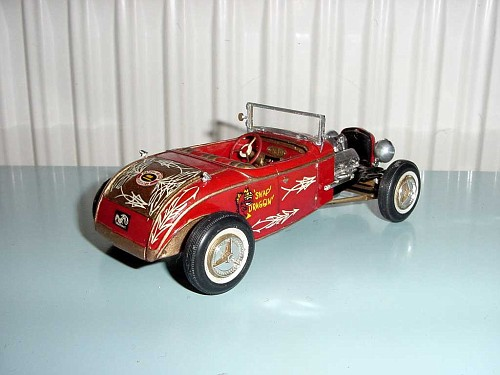 hot rod - model kit  - amt  - 1/25 Dsc05015