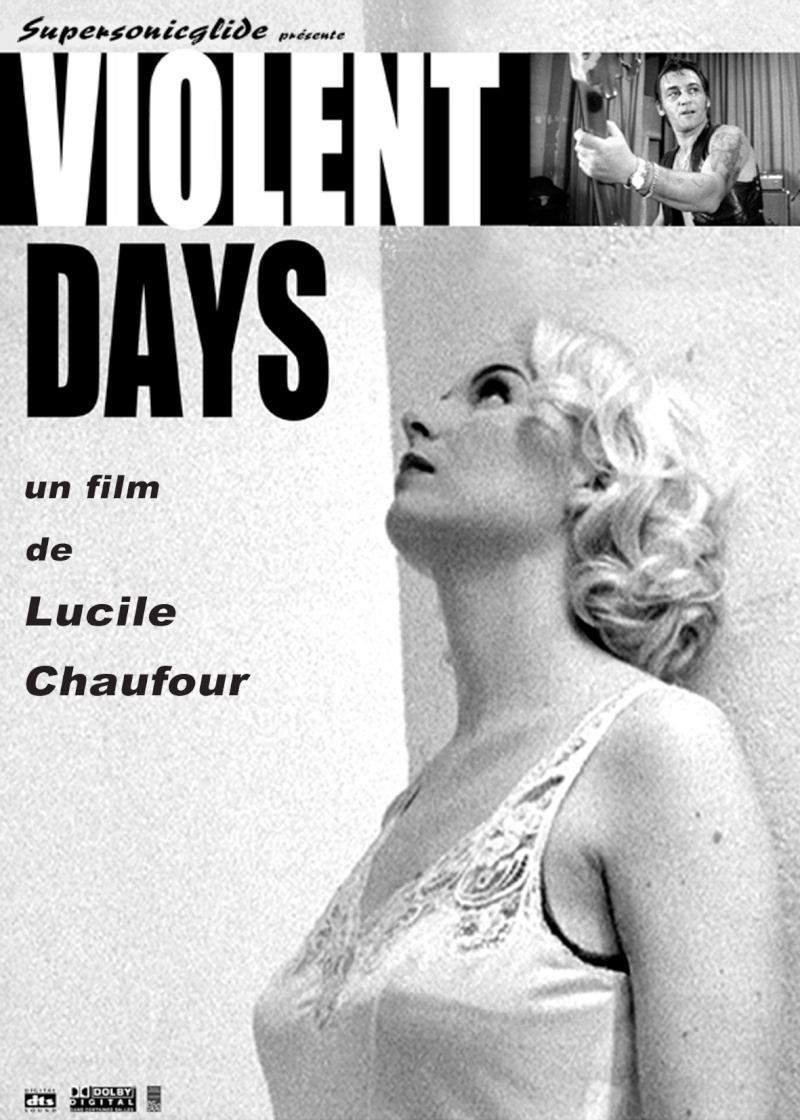 Violent days - Lucile Chaufour -  2009 Flyer-10