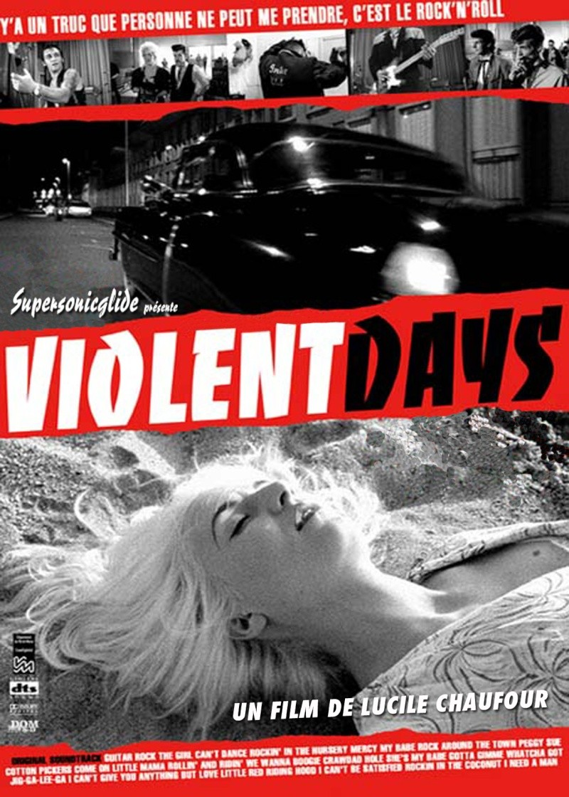 Violent days - Lucile Chaufour -  2009 Flyer-12