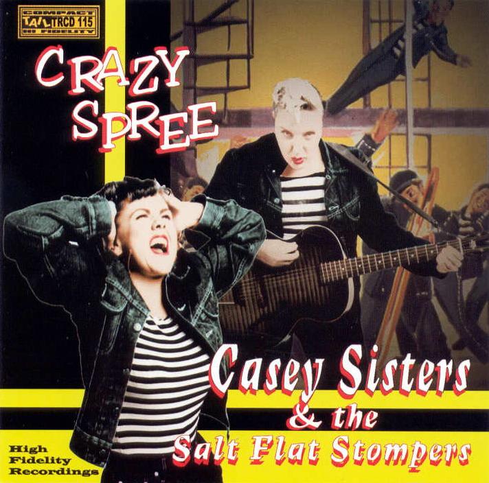 The Casey Sisters & the Salt Flats Stompers - Crazee Speer  Folder14
