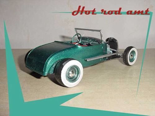 hot rod - model kit  - amt  - 1/25 Forda210