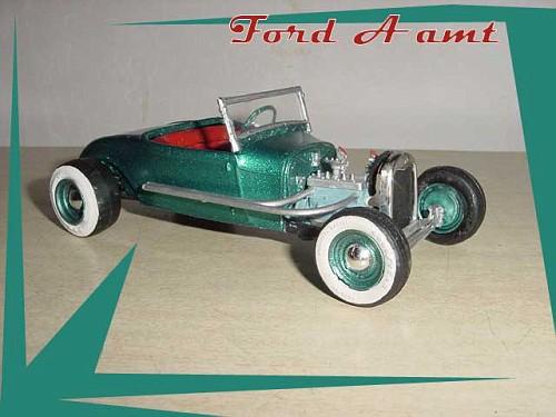 hot rod - model kit  - amt  - 1/25 Fordas10
