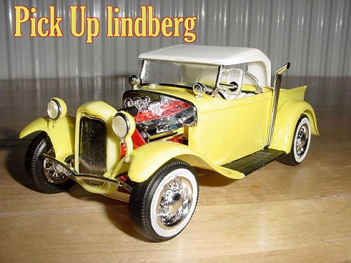 Hot Rod Lindberg 1/25 eme Fordpu11