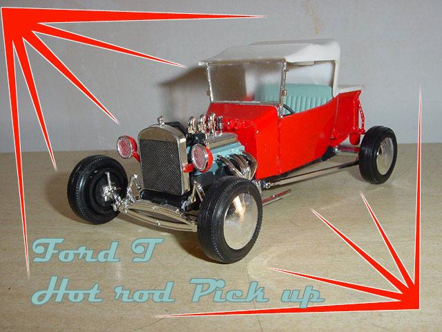 Hot Rod Lindberg 1/25 eme Fordtl10
