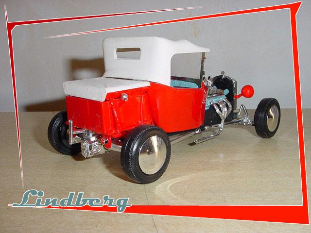 Hot Rod Lindberg 1/25 eme Fordtl12