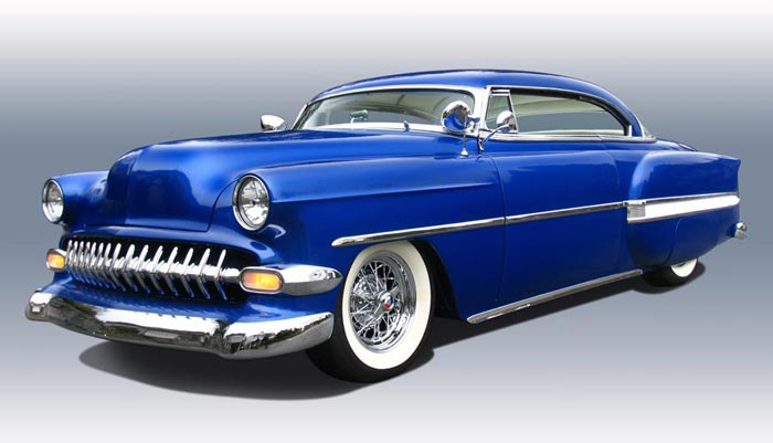 Chevy 1953 - 1954 custom & mild custom galerie - Page 3 Front310