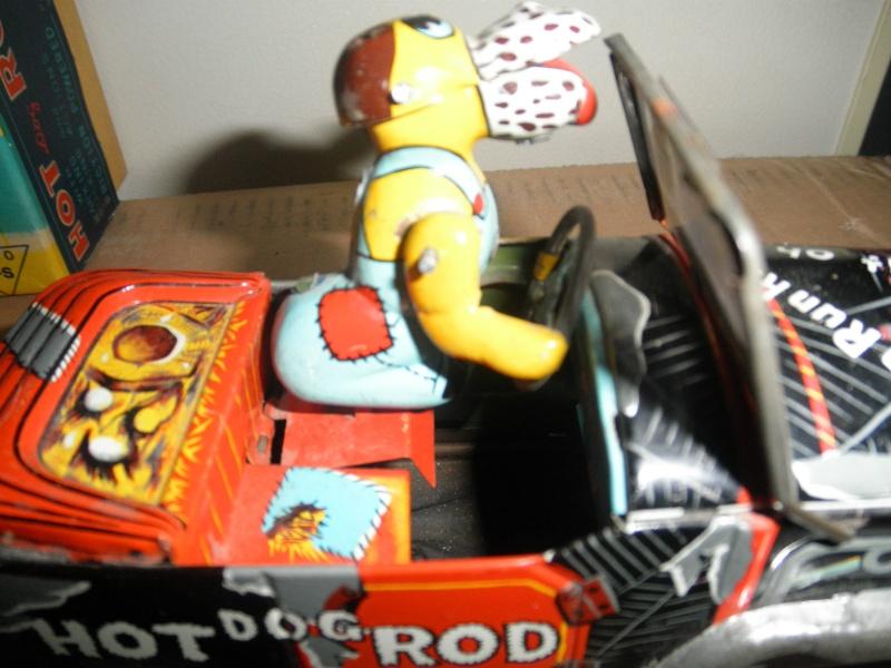 dog hot rod car - Masuya Japan friction Kgrhqf16