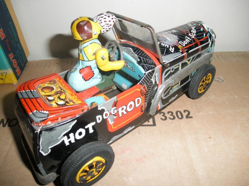 dog hot rod car - Masuya Japan friction Kgrhqj12