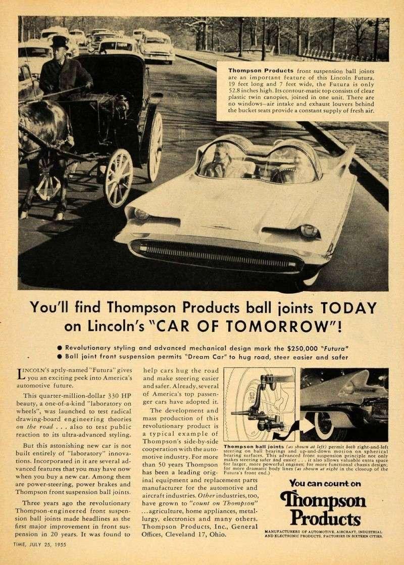 Lincoln Futura 1955 Kgrhqr10