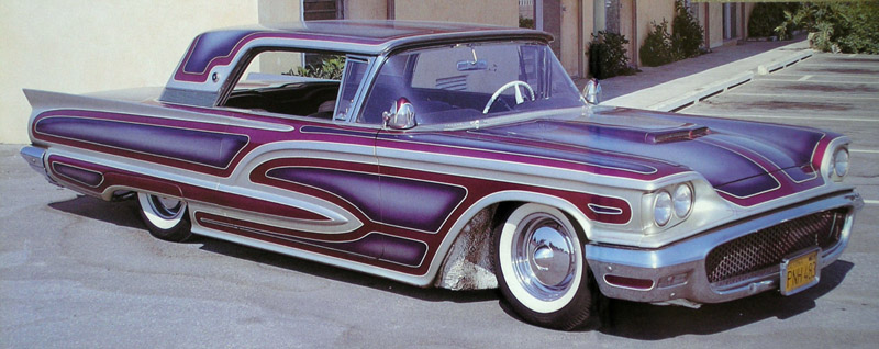 Ford Thunderbird 1958 - 1960 custom & mild custom Larry-13