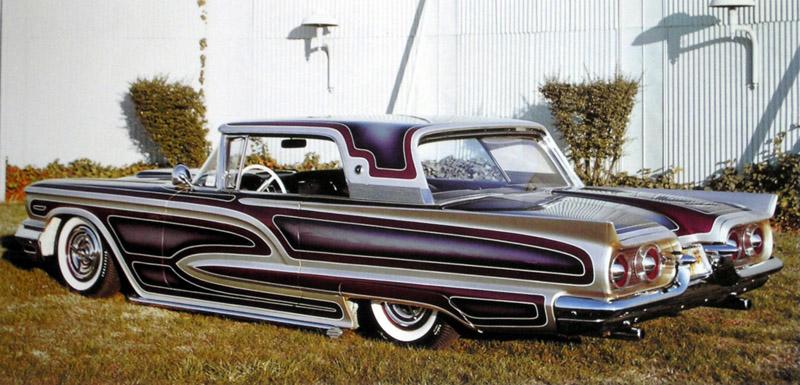 Ford Thunderbird 1958 - 1960 custom & mild custom Larry-14