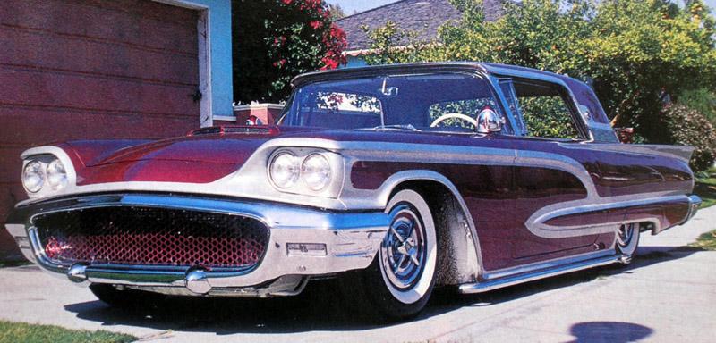 Ford Thunderbird 1958 - 1960 custom & mild custom Larry-16