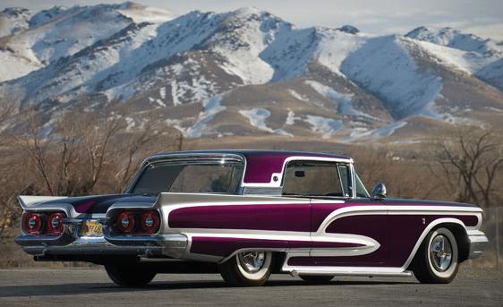 Ford Thunderbird 1958 - 1960 custom & mild custom Larry-17