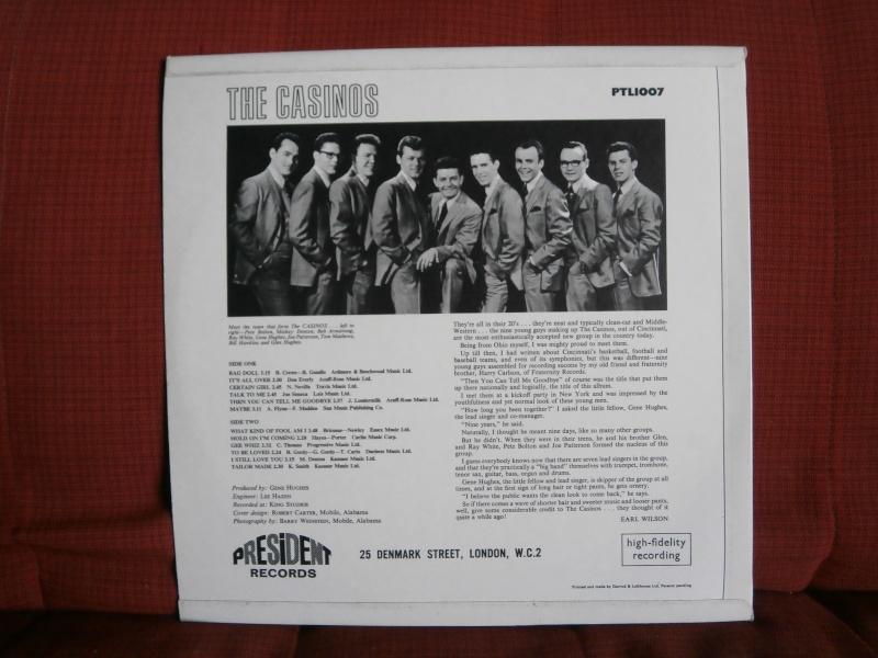 Les albums 33 tours classiques du rock des 1950's et 1960's - Classic Lp's of 1950's and 1960's rock - Page 3 P2210013