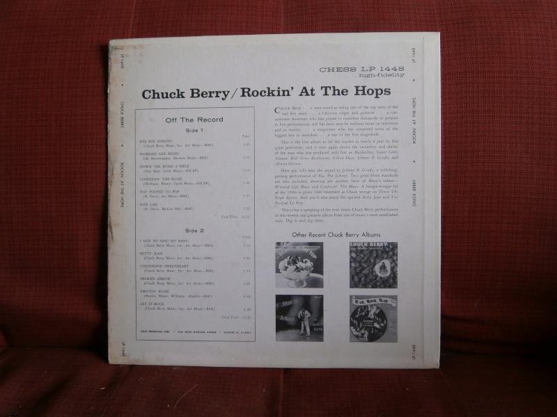 Les albums 33 tours classiques du rock des 1950's et 1960's - Classic Lp's of 1950's and 1960's rock - Page 3 P4170011