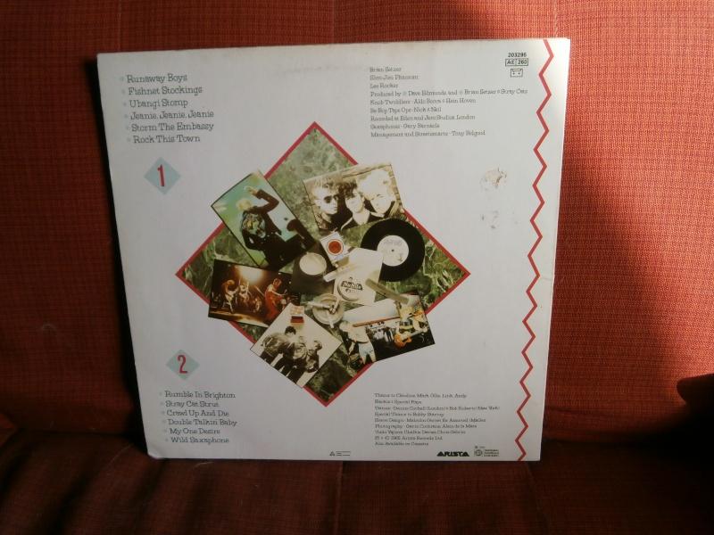 Les albums 33 tours de Rockabilly et Rock 'n' roll revival des  1970's & 1980's P4200011