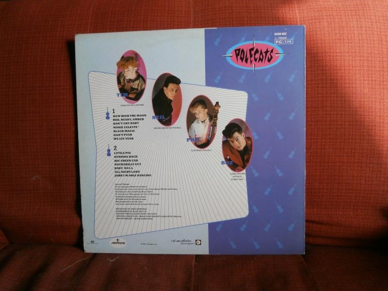 Les albums 33 tours de Rockabilly et Rock 'n' roll revival des  1970's & 1980's P4200016