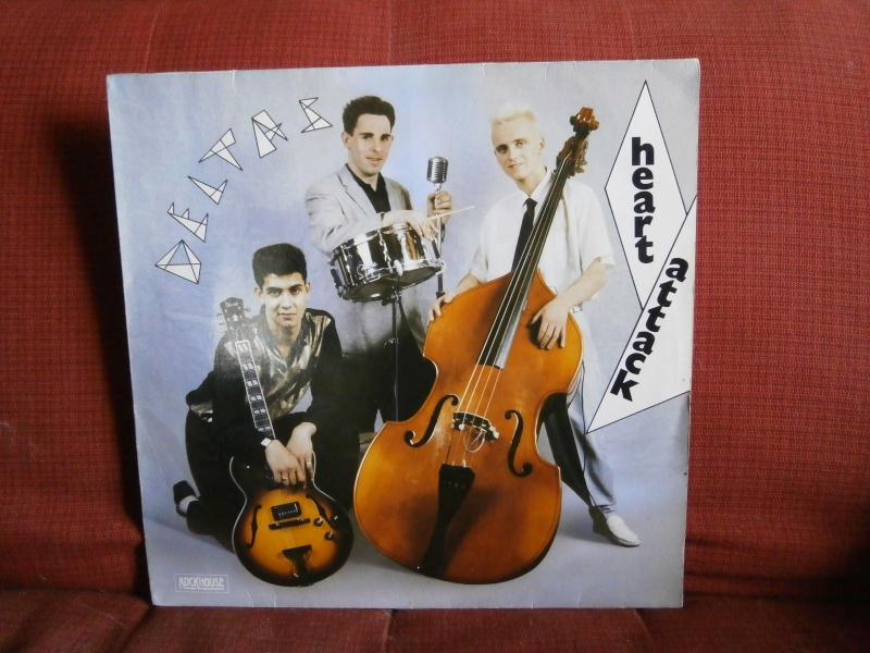 Les albums 33 tours de Rockabilly et Rock 'n' roll revival des  1970's & 1980's P4200021