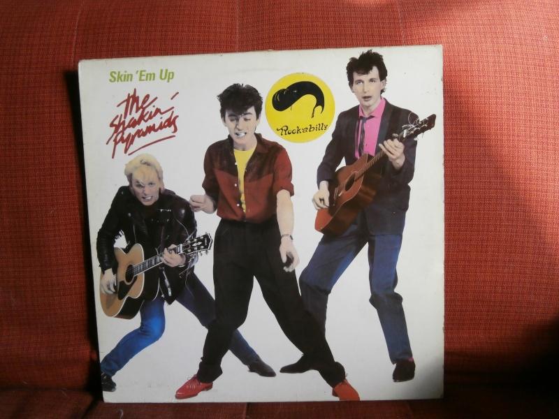Les albums 33 tours de Rockabilly et Rock 'n' roll revival des  1970's & 1980's P4200023