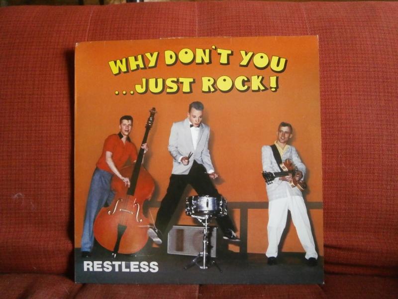 Les albums 33 tours de Rockabilly et Rock 'n' roll revival des  1970's & 1980's P4200025