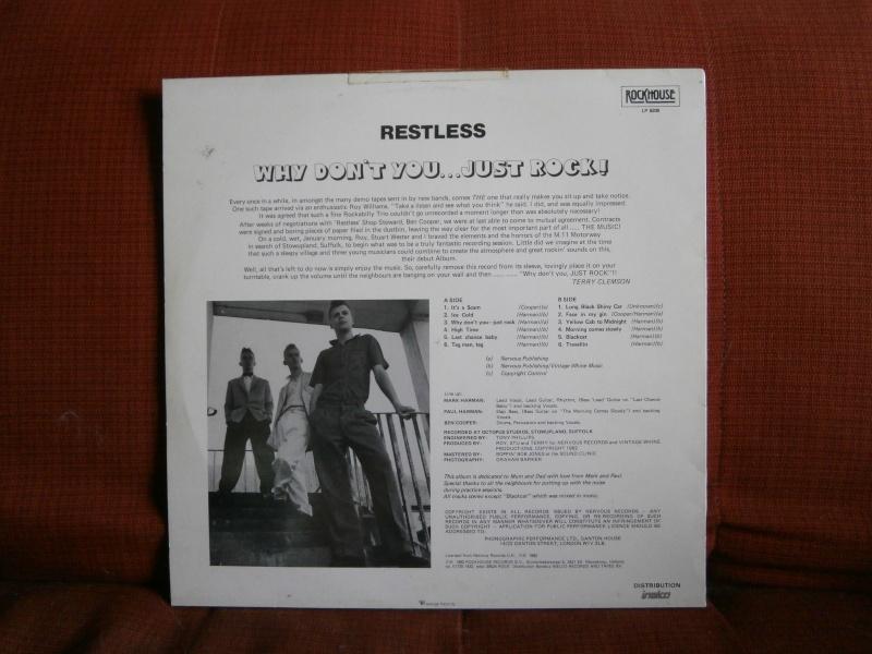 Les albums 33 tours de Rockabilly et Rock 'n' roll revival des  1970's & 1980's P4200026