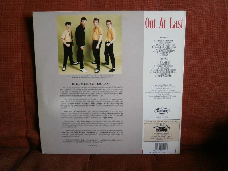 Les albums 33 tours de Rockabilly et Rock 'n' roll revival des  1970's & 1980's P4200028