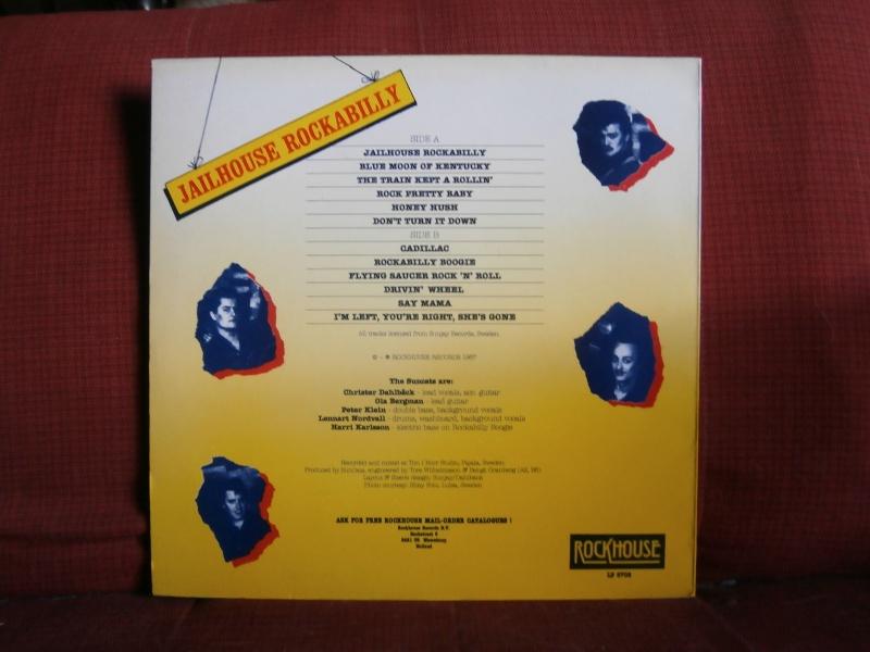 Les albums 33 tours de Rockabilly et Rock 'n' roll revival des  1970's & 1980's P5270012