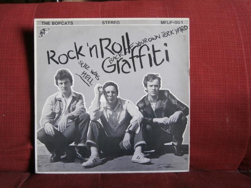 Les albums 33 tours de Rockabilly et Rock 'n' roll revival des  1970's & 1980's P5270015