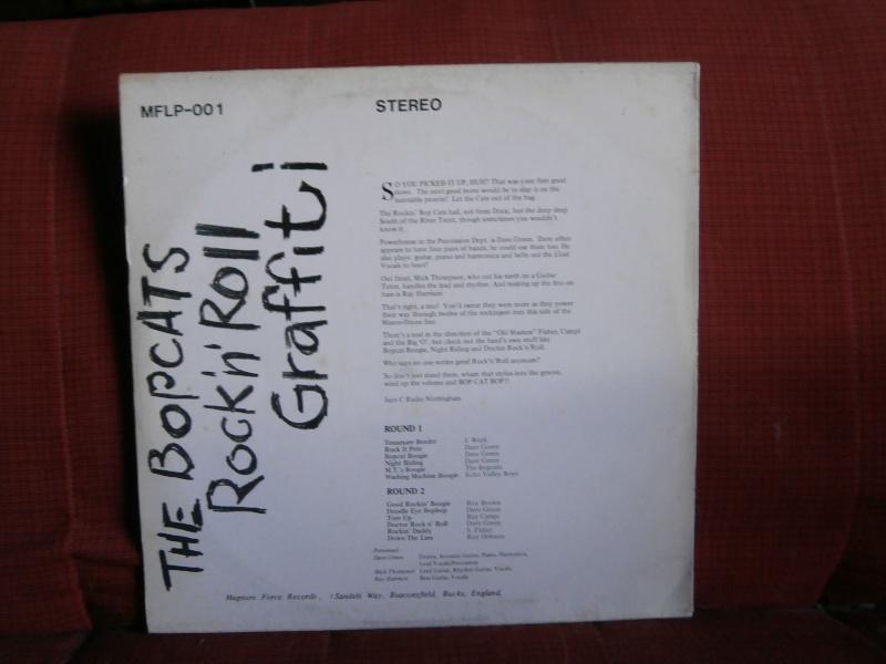 Les albums 33 tours de Rockabilly et Rock 'n' roll revival des  1970's & 1980's P5270016