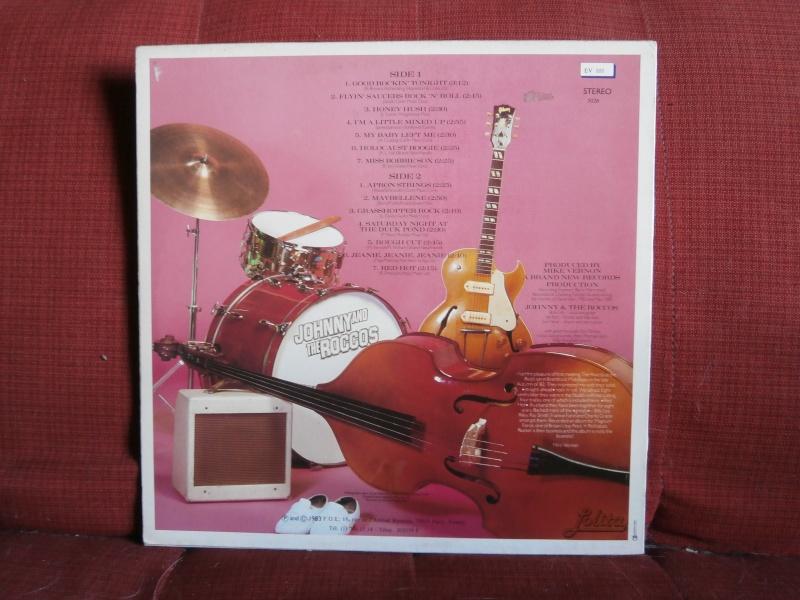 Les albums 33 tours de Rockabilly et Rock 'n' roll revival des  1970's & 1980's P5270018