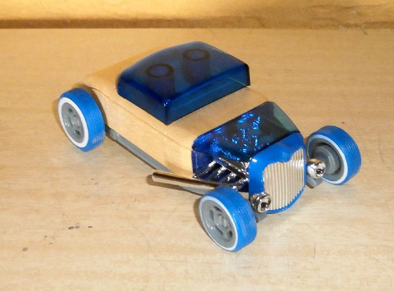 Hot rod - Mini Automoblox P6100010