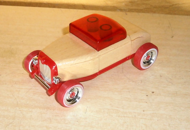 Hot rod - Mini Automoblox P6100012