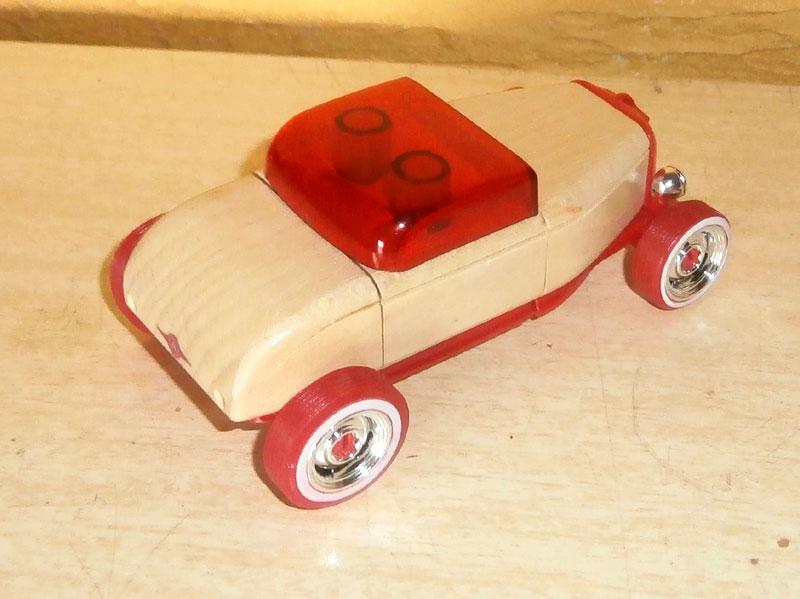 Hot rod - Mini Automoblox P6100013
