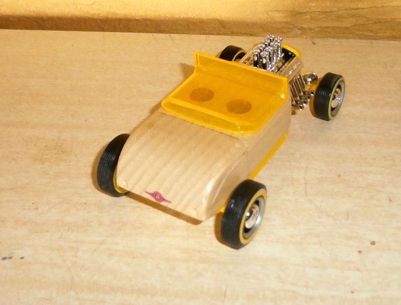Hot rod - Mini Automoblox P6100015