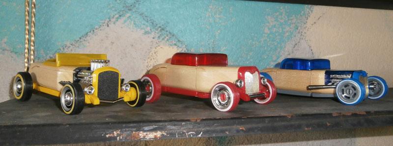 Hot rod - Mini Automoblox P6100016