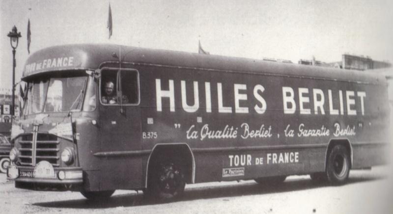 Les véhicules de la Caravane du Tour de France 1950's & 1960's Plk81910