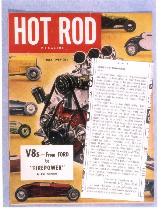 Hot Rods of the 1950's - Andy Southard, Jr. - Motorbook Sans-t33