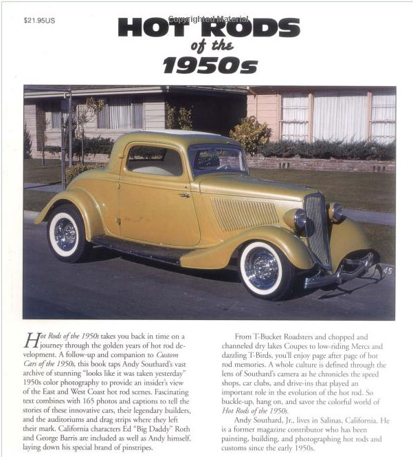 Hot Rods of the 1950's - Andy Southard, Jr. - Motorbook Sans-t37