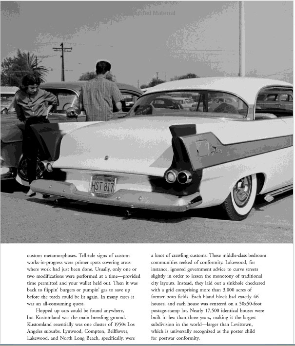 Kustomland: The Custom Car Photography of James Potter, 1955-1959 Sans-t42