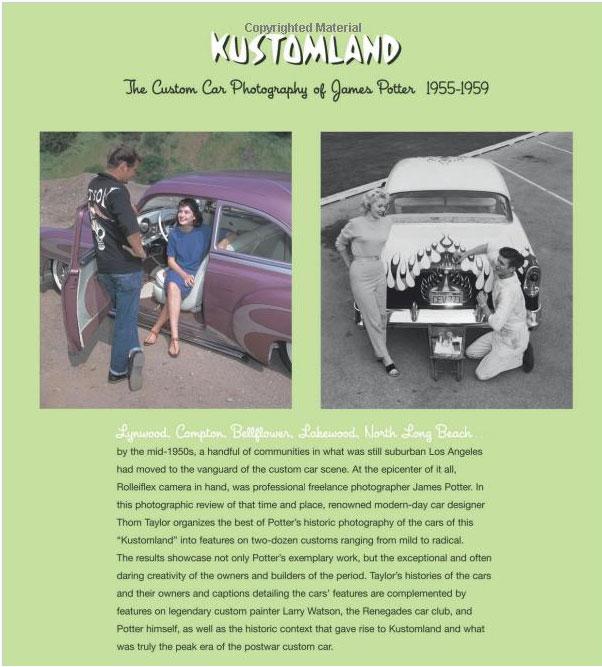 Kustomland: The Custom Car Photography of James Potter, 1955-1959 Sans-t44
