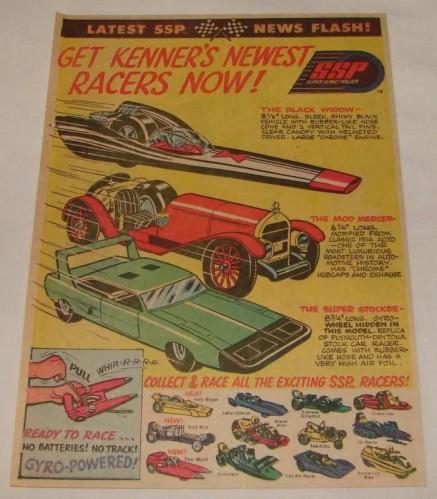 Cascadeurs Giro Jet et  Kenner SSP racers Ssp10