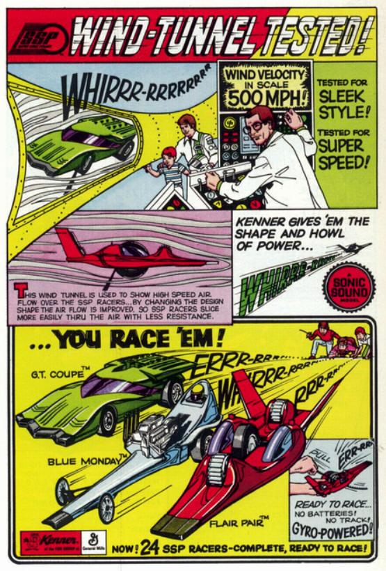 Cascadeurs Giro Jet et  Kenner SSP racers Ssprac10