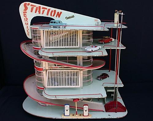 Garages jouets - Toys garage Statio10