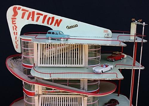 Garages jouets - Toys garage Statio12