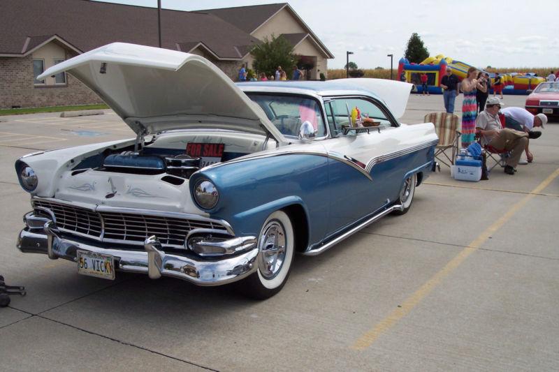 Ford 1955 - 1956 custom & mild custom T2ec1612