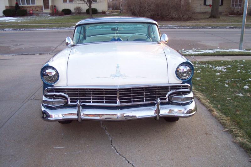 Ford 1955 - 1956 custom & mild custom T2ec1613